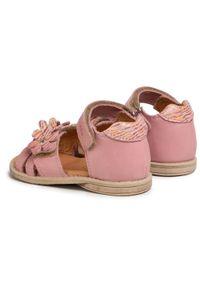 Różowe sandały Froddo casualowe, na co dzień, z aplikacjami, na lato #6