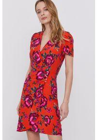 Morgan - Sukienka. Okazja: na co dzień. Kolor: pomarańczowy. Materiał: tkanina. Typ sukienki: proste. Styl: casual #4