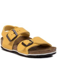 Żółte sandały Birkenstock