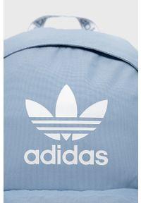 adidas Originals - Adidas Originals - Plecak. Kolor: niebieski. Materiał: materiał