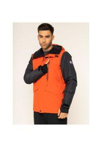 Pomarańczowa kurtka narciarska Quiksilver