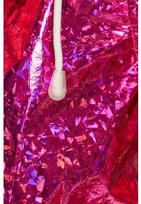 Różowa kurtka Brave Soul na co dzień, casualowa