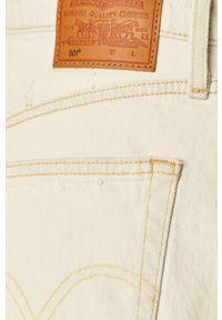 Niebieskie szorty Levi's® na co dzień, w kolorowe wzory, casualowe