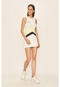 Biała sukienka Ellesse casualowa, na co dzień