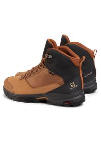 Brązowe buty trekkingowe salomon Gore-Tex, trekkingowe