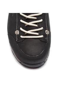 Czarne buty trekkingowe Dolomite trekkingowe, z cholewką