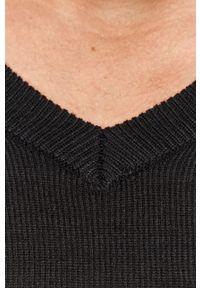 Niebieski sweter Brave Soul casualowy, długi, z długim rękawem