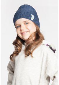 Bawełniana czapka dziecięca PaMaMi- ciemnoniebieski. Kolor: niebieski. Materiał: bawełna, elastan. Sezon: wiosna #3