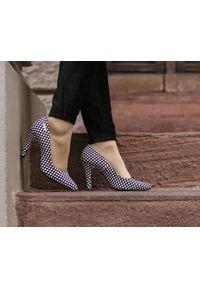Czarne czółenka Zapato eleganckie, wąskie, na lato, do domu