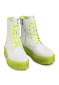 Białe buty trekkingowe Keddo