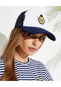 MOA Concept - MOA CONCEPT - Granatowa czapka z daszkiem Tweety. Kolor: biały. Materiał: tkanina. Wzór: aplikacja, napisy