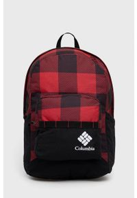 columbia - Columbia - Plecak. Kolor: czerwony. Wzór: nadruk