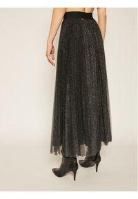 Liu Jo Spódnica plisowana IF0017 J1858 Czarny Regular Fit. Kolor: czarny