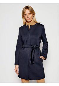 Niebieski płaszcz przejściowy Weekend Max Mara