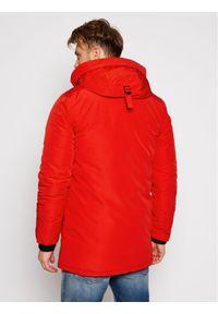 Superdry Kurtka zimowa Everest M5010204A Czerwony Regular Fit. Kolor: czerwony. Sezon: zima #6