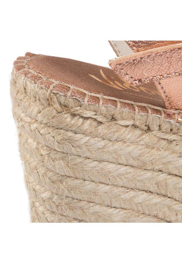 Różowe sandały Vidorreta casualowe, na co dzień