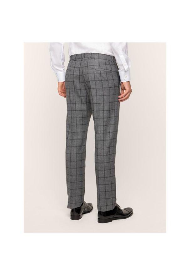 Szare spodnie garniturowe Strellson