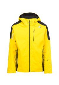 Żółta kurtka narciarska Descente