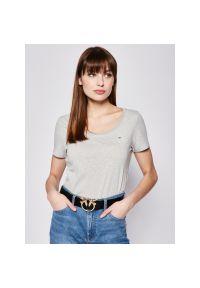 T-Shirt Tommy Jeans Original DW0DW04435. Kolor: szary