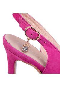 Różowe sandały Baldaccini casualowe, na co dzień #6
