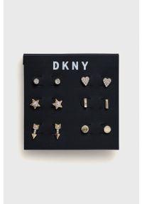 DKNY - Dkny - Kolczyki (6-pack). Kolor: złoty