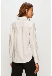 Biała koszula Miss Sixty klasyczna, z włoskim kołnierzykiem, długa, na co dzień