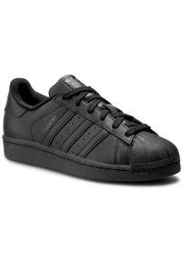 Czarne buty sportowe Adidas na lato, na co dzień