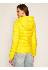 Żółta kurtka puchowa Tommy Jeans