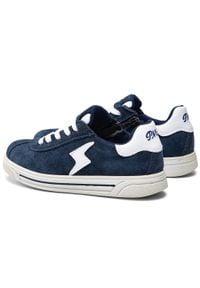 Primigi - Sneakersy PRIMIGI - 3383055 S Navy. Okazja: na co dzień. Kolor: niebieski. Materiał: skóra, zamsz. Szerokość cholewki: normalna. Styl: casual