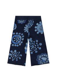 Niebieskie spodnie Desigual