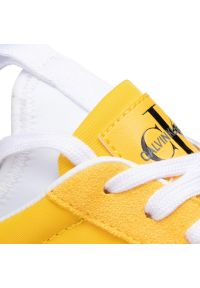 Żółte sneakersy Calvin Klein Jeans