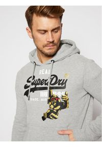 Superdry Bluza Nyc Photo M2010433B Szary Relaxed Fit. Kolor: szary