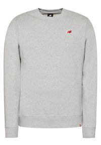 New Balance Bluza MT01661 Szary Regular Fit. Kolor: szary
