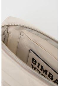 Bimba y Lola - BIMBA Y LOLA - Torebka. Kolor: beżowy. Materiał: pikowane. Rodzaj torebki: na ramię