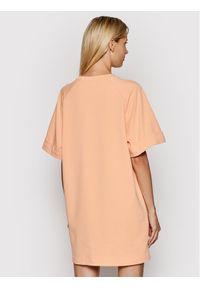Imperial Sukienka codzienna ABZQBCR Pomarańczowy Regular Fit. Okazja: na co dzień. Kolor: pomarańczowy. Typ sukienki: proste. Styl: casual