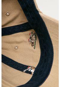 Beżowa czapka z daszkiem Polo Ralph Lauren