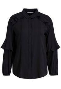 iBlues Koszula 71161096 Czarny Regular Fit. Kolor: czarny #4