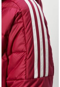 Fioletowa kurtka adidas Performance casualowa, na co dzień