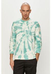 Morska bluza nierozpinana Guess na co dzień, casualowa