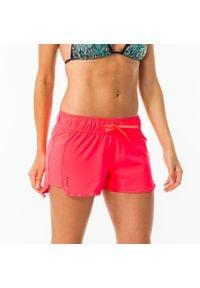 OLAIAN - Szorty Surfing Tini Damskie. Kolor: wielokolorowy, czerwony, różowy. Materiał: poliester, elastan, materiał. Długość: krótkie