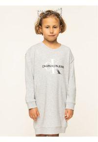 Szara bluza Calvin Klein Jeans