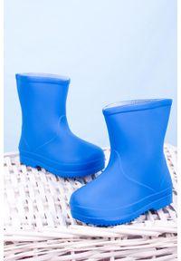 Casu - niebieskie kalosze casu hq-105. Kolor: niebieski