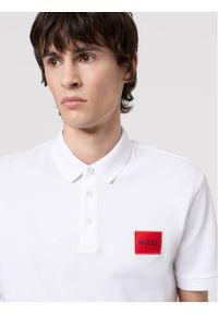 Hugo Polo Dereso212 50447938 Biały Regular Fit. Typ kołnierza: polo. Kolor: biały