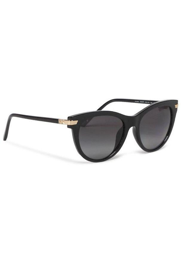 Czarne okulary przeciwsłoneczne Michael Kors