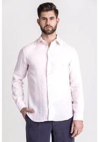 Koszula Emporio Armani biznesowa, na lato, na co dzień