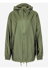 Rains Kurtka przeciwdeszczowa Unisex 1837 Zielony Relaxed Fit. Kolor: zielony