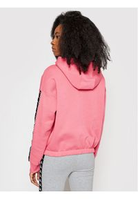 Kappa Bluza Ivaine 309070 Różowy Relaxed Fit. Kolor: różowy