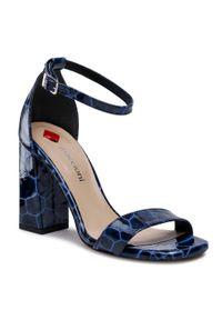 Niebieskie sandały Maccioni