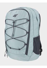 4f - Plecak miejski. Kolor: turkusowy