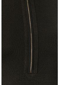 Czarna sukienka Morgan mini, na co dzień, prosta